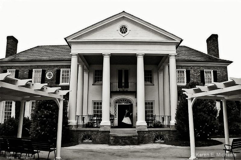 columns of Boone Hall
