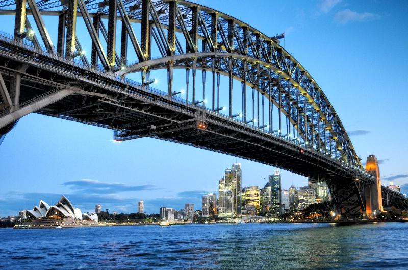 Blue Hour at Sydney