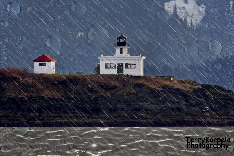 Point Retreat Lighthouse,  Juneau Alaska