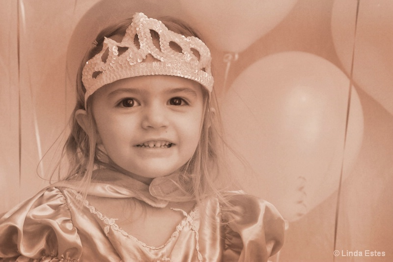 Sweet Sepia Princess