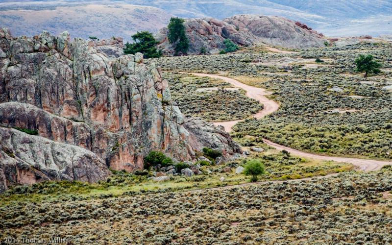 Hartman Rocks roads