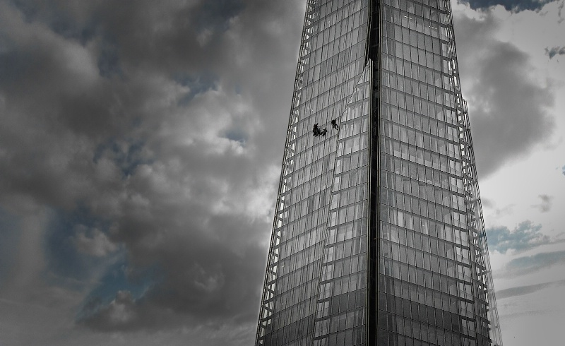 Cleaning Windows at the Shard