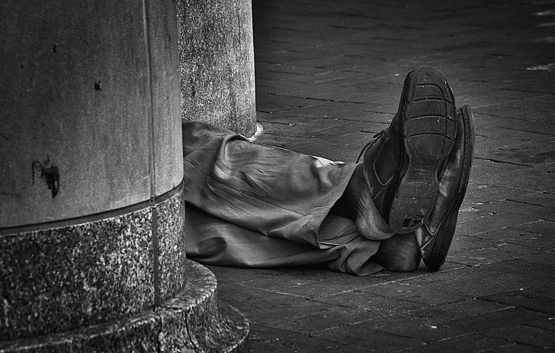 Homeless Feet