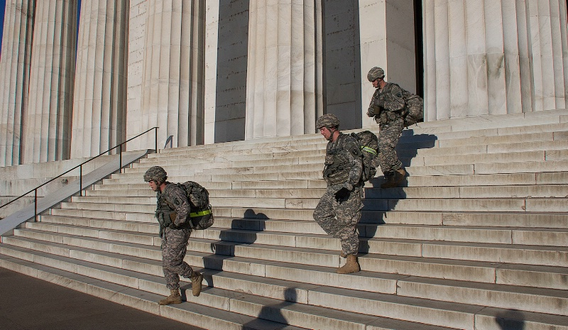 Soldiers in Washington DC