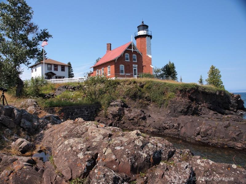 Eagle Harbor Lighthouse