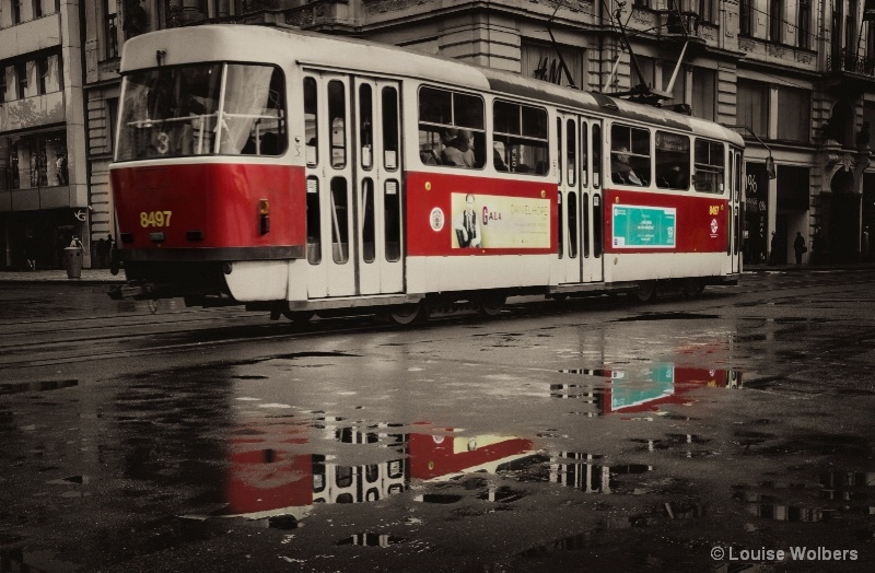 Tram Reflections