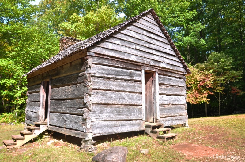 Log Cabin by Roaring Fork Trail