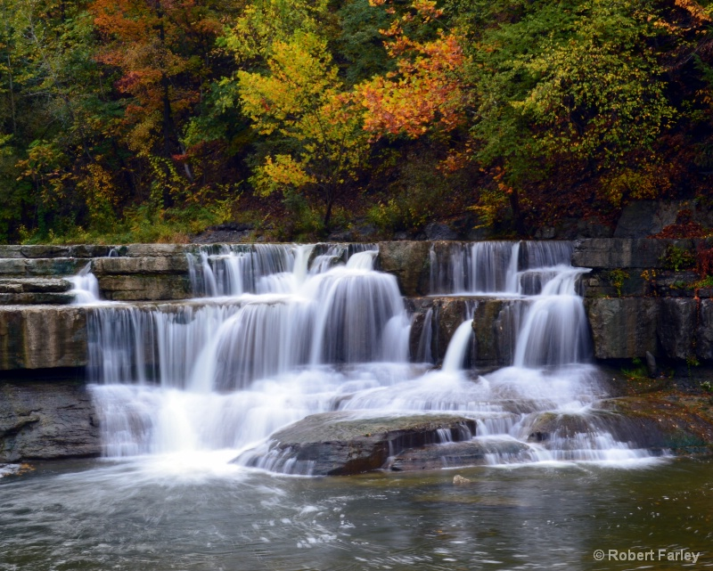 cascade at taughannock