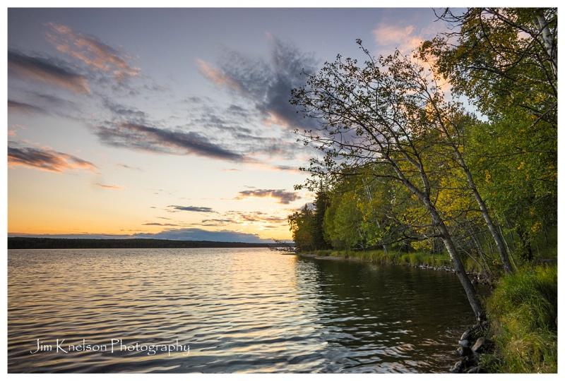Waskesui Lake Prince Albert NP