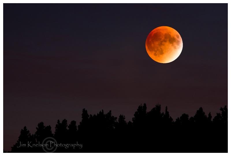 Lunar Eclipse Cypress Hills AB September 27 2015