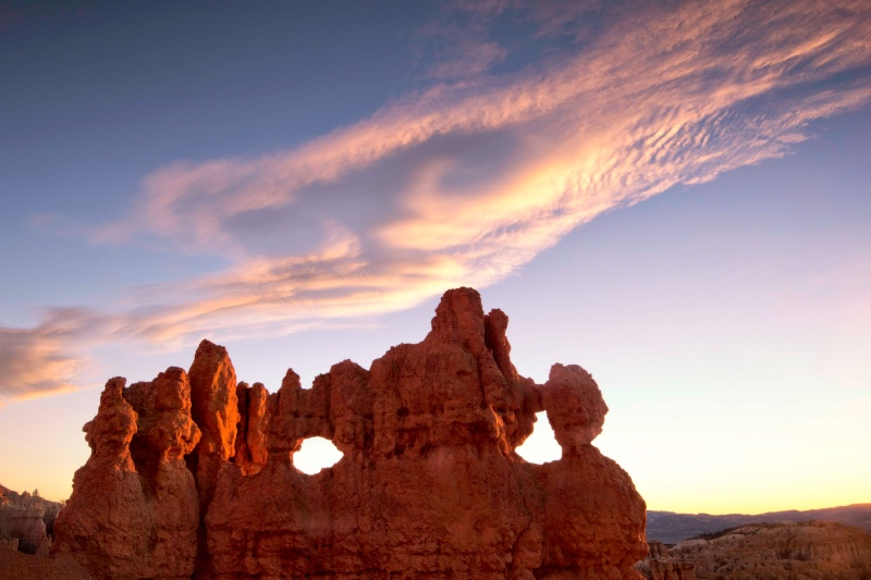 Clouds at Bryce Canyon