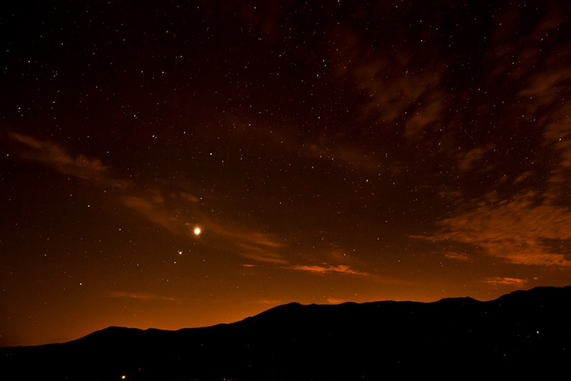 Venus over the Blue Ridge