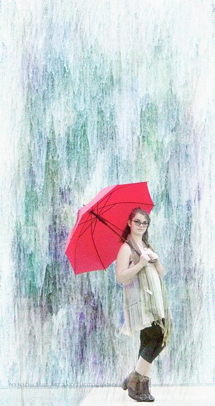 Little Red Umbrella