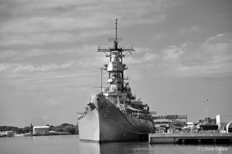 USS Missouri Standing Proud