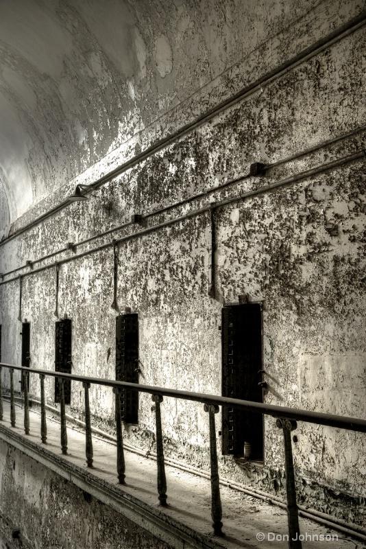 Old Prison Hallway-hdr 3-0 f lr 11-17-15 j241-243