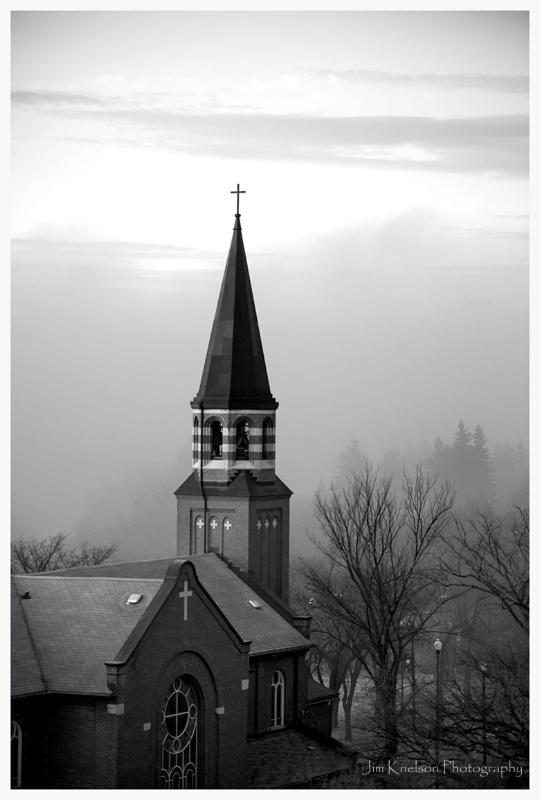 Church Steeple Saskatoon