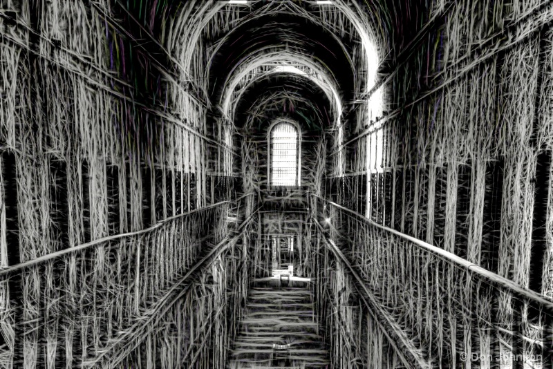 Old Prision Corridor-hdr-fract 11-17-15 226+