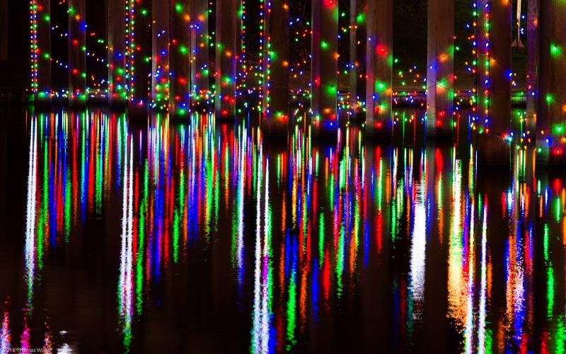 Bridge Lights and Reflections
