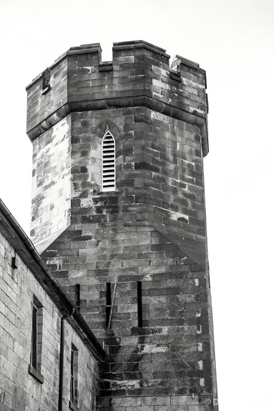B&W Prison Tower 11-17-15 J262