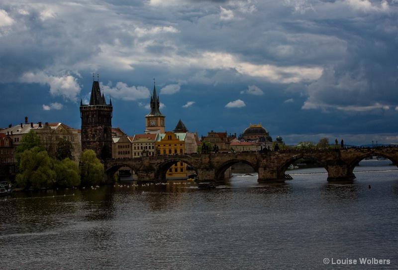 Stormy Prague