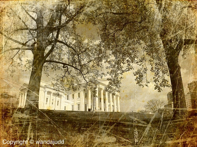Old Black and White Capitol