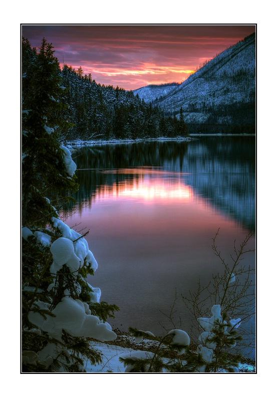 Lake McDonald Sunset