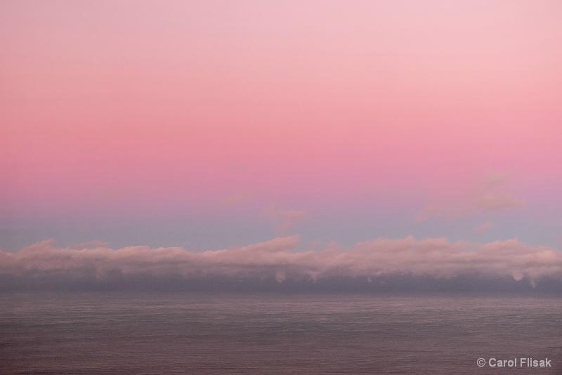Rough Waters, Clouds and Pastel Skies