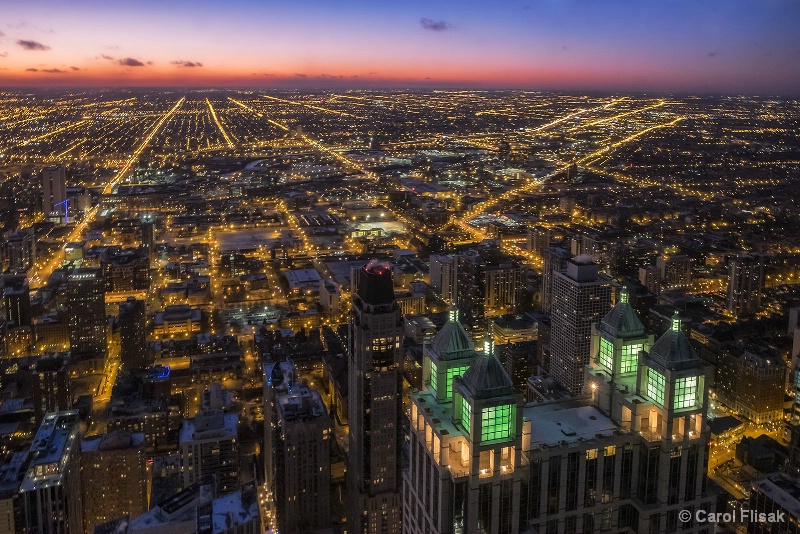 A Westerly View of Chicago