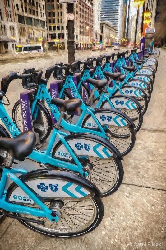 Painterly Bikes to Share