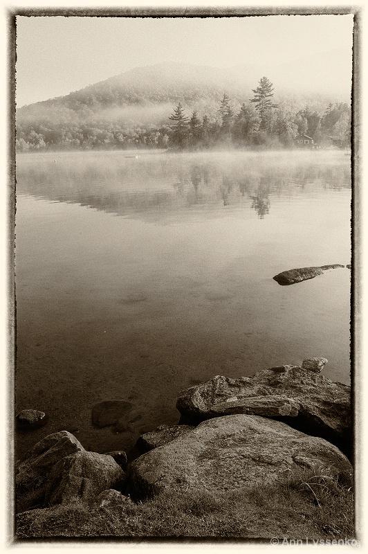Fall Mountain Stillness