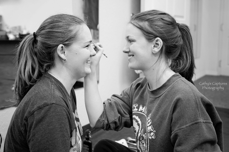 ~Sisters & Makeup Before the Wedding~