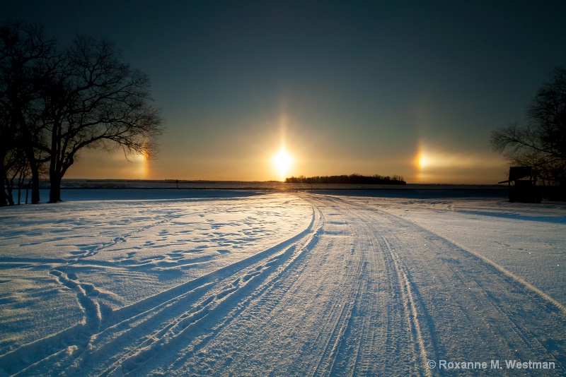 Road to the sun dogs
