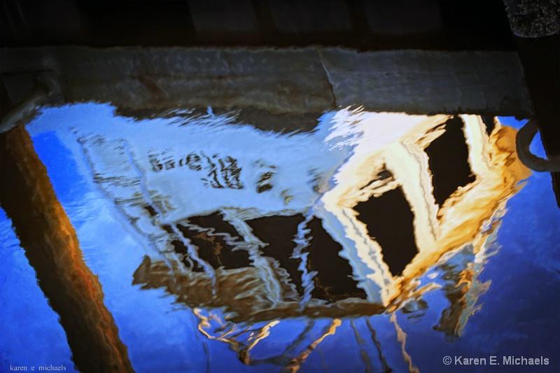 Wheelhouse Reflection