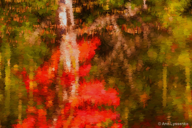 Red Tree Shimmer