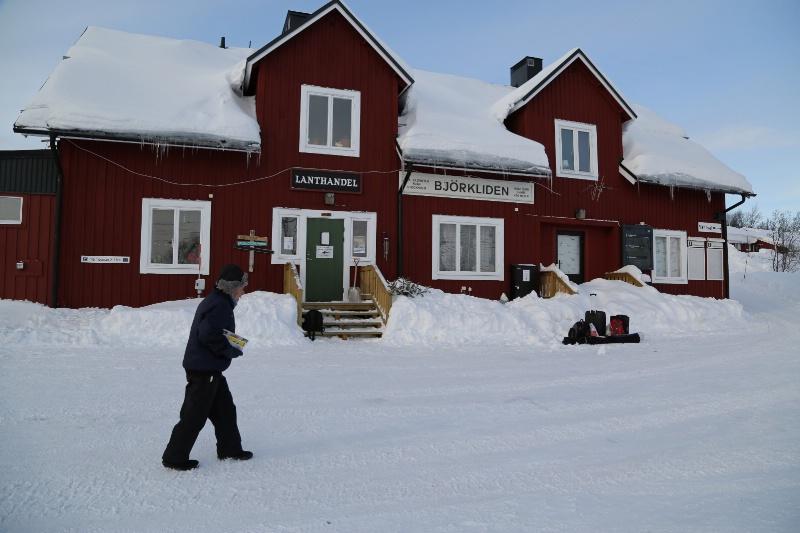 Björkliden Train Station