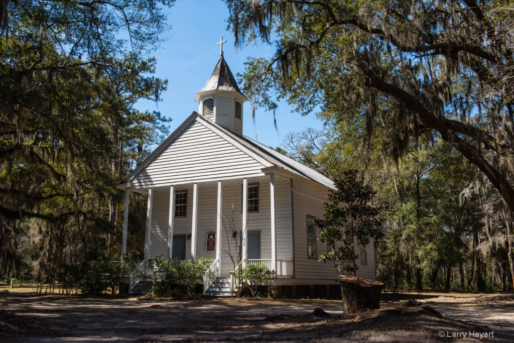 Old Church in South Carolina