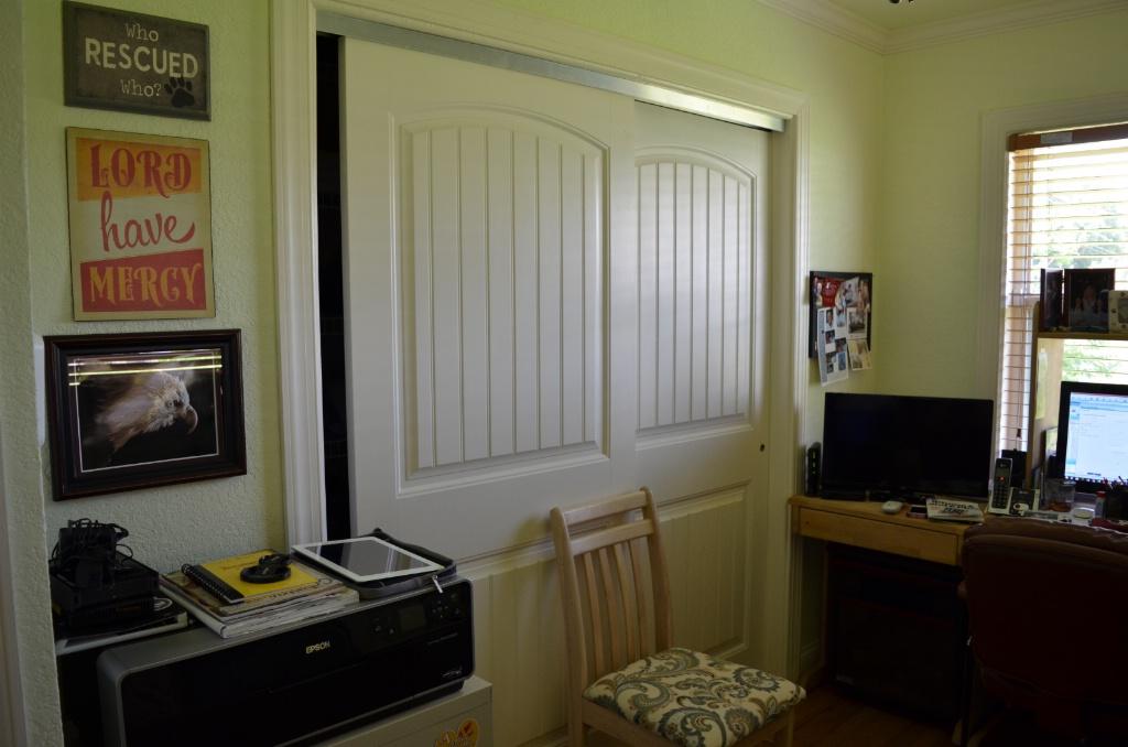 NEW CLOSET IN COMPUTER ROOM