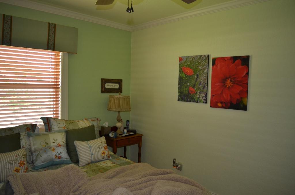 MY BEDROOM LOOKING TOWARD INSIDE WALL