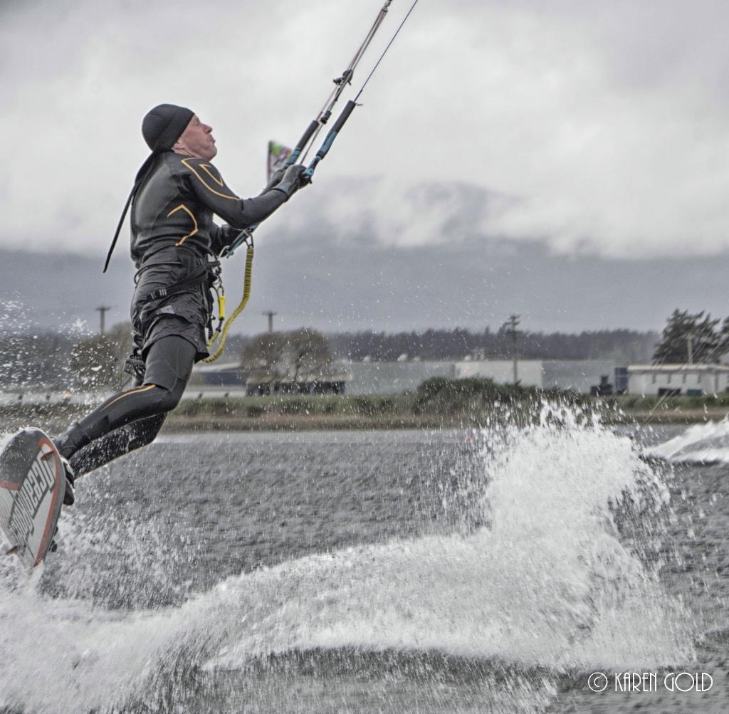 Kite Surfing Take-off