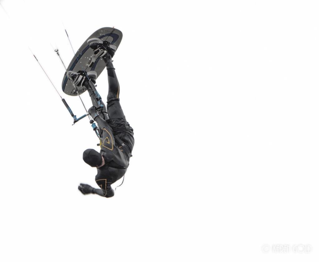 Kite Surfing Flip