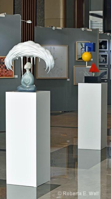 Chonese art display