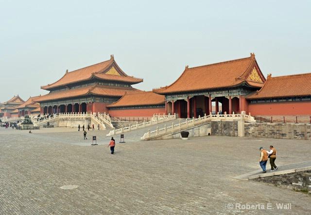 entering Forbidden City