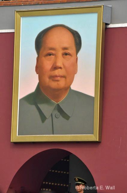 Mao in Tinamen Square