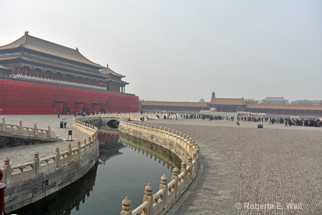 moat around Forbidden City