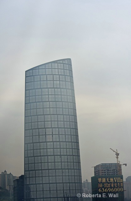 new building in old smog