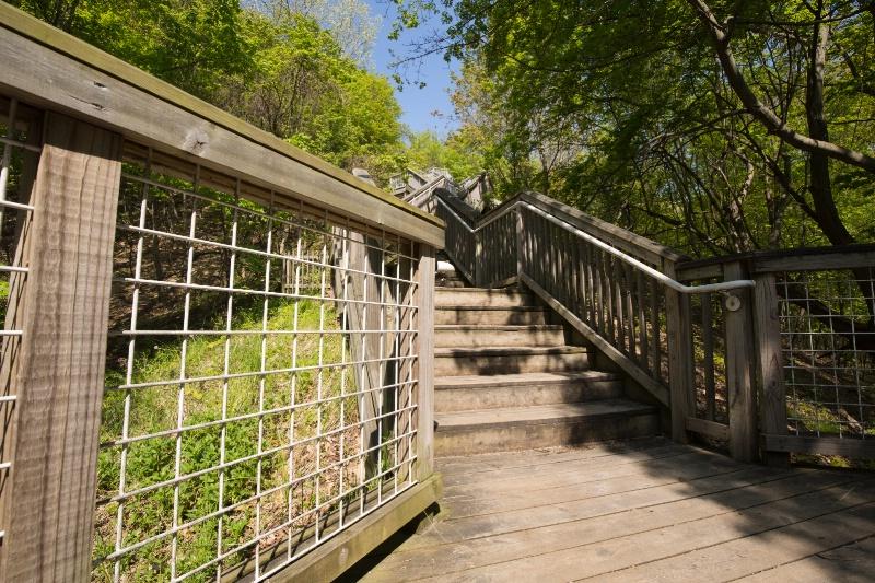 The Stairs at Mt. Pisgah, Ottawa Beach Park