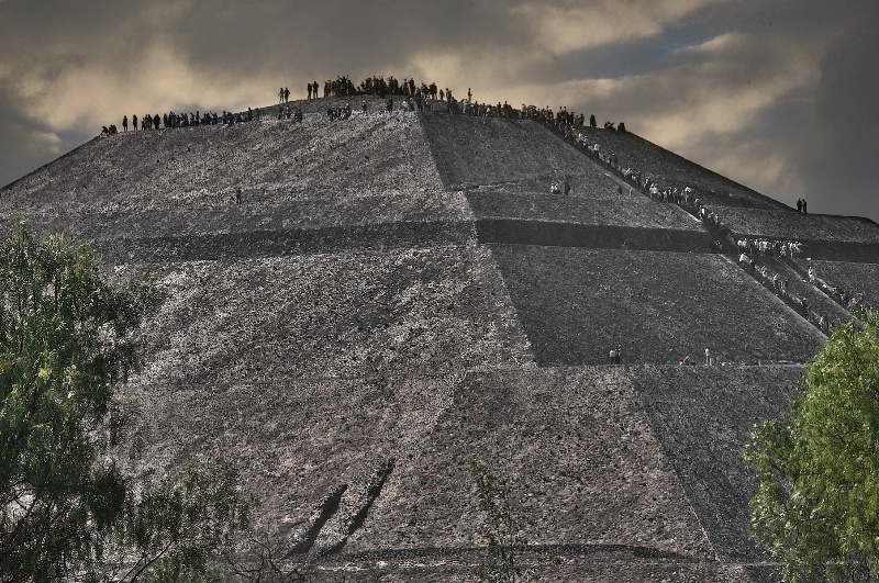 Magnificent Pyramid of the Sun