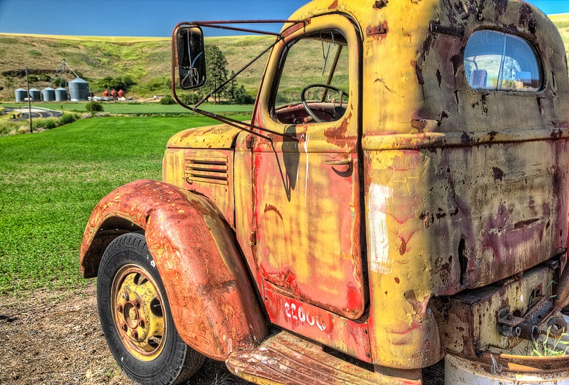Seen Better Days, The Palouse, Washington