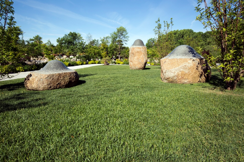 Three Stone Sculptures #1