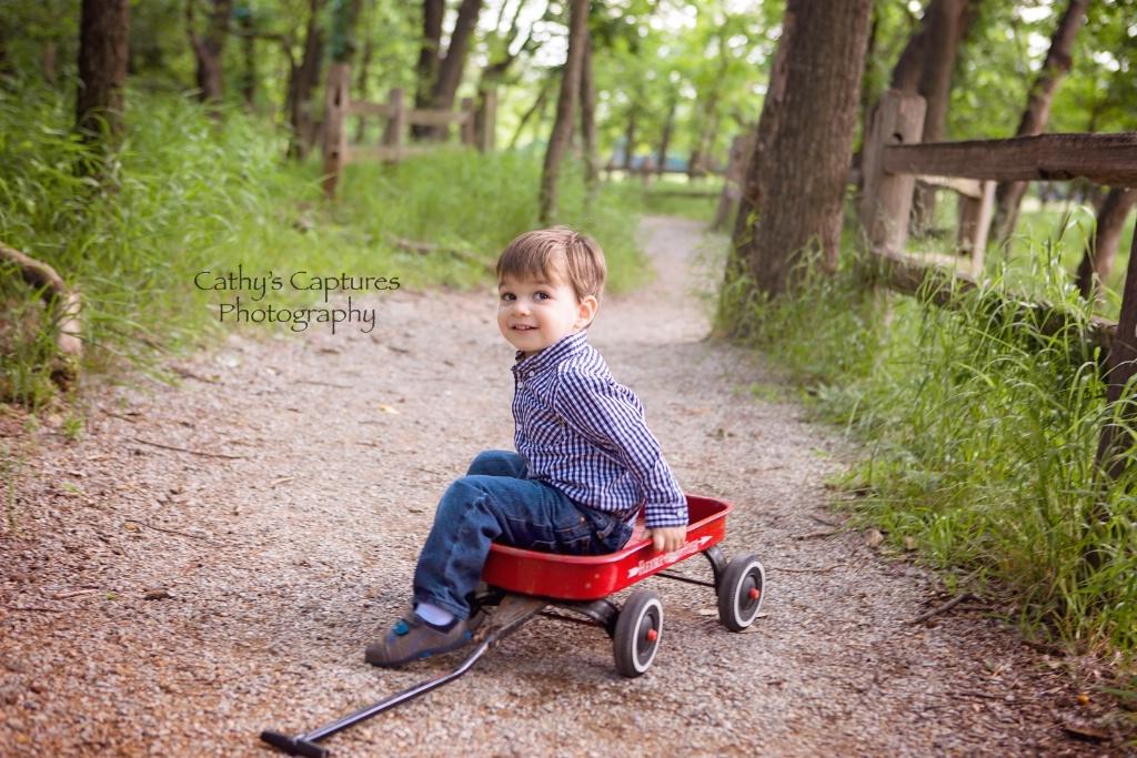 ~A Boy & His Wagon~
